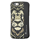 Lion  Pattern PC + TPU Drop Resistance  Phone Shell For iPhone 6