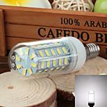 E14 3.5W 600lm 6500k 48-SMD 5730 ha condotto la lampada fredda mais luce bianca (220v ~ 240v)