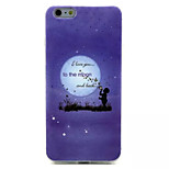 To The Moon  Pattern IMD + TPU Phone Case For iPhone 6