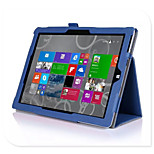 Protective Tablet Cases Leather Cases Bracket Holster for Microsoft Surface 3  (10.8 inches)
