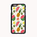 Caso duro di alluminio di disegno frutta per iPhone 6