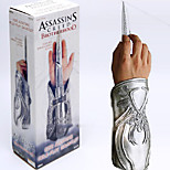 Weapon Inspired by Assassin's Creed Cosplay Anime/ Video Games Cosplay Accessories Weapon Silver PVC Male