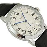 Men's Luxury Brand Dress Quartz Wristwatches  Leather Strap Sports Clock Men Wrist Watch Cool Watch Unique Watch