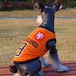 FUN OF PETS® Fashionable Netherlands Football Team Pattern Vest for Pet Dogs(Assorted Sizes)