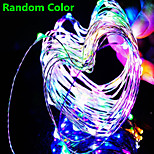 Dc12v 33FT 100 Leds Fairy String Lights Christmas Wedding Party Xmas Decoration and 14key Ir and Power