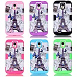 Specially Designed TPU+PC Back Cover for Samsung S4 I9500 (Assorted Colors)
