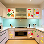 Wall Stickers Wall Decals Style Fruit Kitchen Decoration PVC Wall Stickers