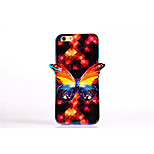 3D Butterfly Pattern Style TPU Bling Bling Soft Smart Phone Case Protective Case Cover for iPhone6 4.7'' Inch