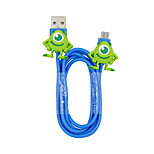 Disney Mike Charging Cable For Samsung S4/S5/S6/S6E