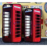 Telephone Booth Printing TPU Case for iPhone5/5S