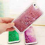 blinkende Sterne Treibsand Design TPU weiche Fallabdeckung für iphone 5/5 s (verschiedene Farben)