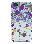 Pansies Pattern PC Material Phone Case for iPhone 4/4S