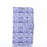 Elephant Pattern PU Leather Full Body Case with Stand for LG G3
