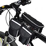 Bolsa para Cuadro de Bici / Bolsa de Ciclismo A prueba de lluvia / Multifuncional Ciclismo Ripstop 600D Rojo / Gris / Negro / Azul
