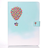 Special Design 3D Pattern PU Leather Full Body Case with Stand for iPad air 2