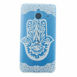 Finger Flower Pattern PC Material Phone Case for Nokia 640XL