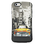 City  Pattern PC + TPU Drop Resistance Phone Shell For iPhone 6 Plus