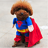 ABPET Lovely Dog's Supermen Suit