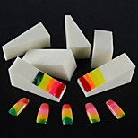 16PCS Manicure Sponge Nail Art Stamper Stamping Sponge DIY Gradient Color Nail Files Tools for Nail Decorations