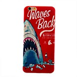 English Blue Whale Feel Thin TPU Case for iphone 6/6S
