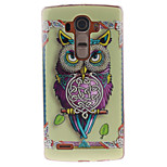 Painted Owl TPU Soft Case for LG G4