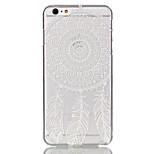 cavità fiore modello ultrasottile caso duro della copertura posteriore per iPhone 6
