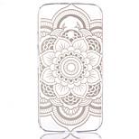 Rudra Flowers Pattern Pierced Hard Back Case for Motorola G2