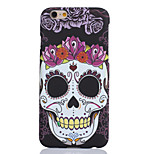 Fashion Individuality Skull Style PC Back Cover Case for iPhone 6 Plus