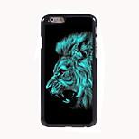 Lion Design Aluminum Hard Case for iPhone 6