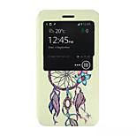 Campanula Pattern PU Leather Phone Case for Nokia Microsoft Lumia 640 XL