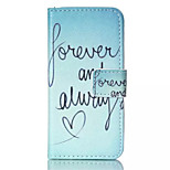 Happy Sea  Pattern PU Leather Phone Case For iPhone 5/5S