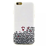 Love Pattern IMD + TPU Phone Case For iPhone 6  Plus