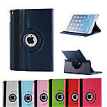 360 Degree Rotating Litchi Pattern Covered Include Back Case Full Body Case for iPad Air 2(Assorted Colors)