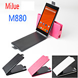Flip Leather Magnetic Protective Case For Mijue M880(Assorted Colors)