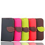 pu bőr teljes test esetében állvánnyal Samsung Galaxy S3 (vegyes színek)