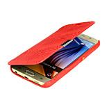 삼성 갤럭시 S6 용에서 다음과 같은 특별한 디자인 고급 PU 가죽 전신 casesr