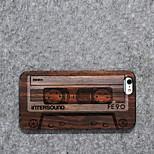 madera shell personalidad / cinta retro para el iphone 6