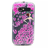 Art Pattern Design Ultra-thin TPU relief Back Cover for Alcatel One Touch Pop C5