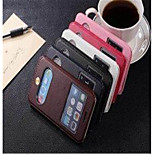 With Stents window Sheath Classics Leather  Pu/Pc  Mobilephone Shell for iPhone 6 4.7 Assorted Colors