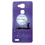 Bubble on the moon  Pattern TPU Soft Case for Huawei Mate 7