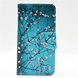 Apricot Tree Pattern PU Leahter Full Body Case with Card Slot for Microsoft Lumia 640