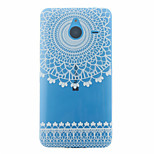 Wind Chime Flower Pattern TPU Case for Microsoft Lumia 640 XL
