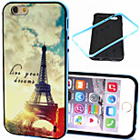 Transmission Tower  Pattern TPU + PC Border Phone Case For iPhone 6