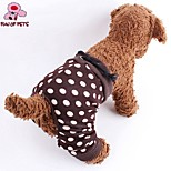 FUN OF PETS® Suitable Ball-points Brown Leggings for Pets Dogs (Assorted Sizes)Only for the Trousers