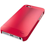 Hotgo Excellent Brushed Metal Arc Slim Aluminum Case Back for I5s