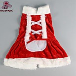 FUN OF PETS® Pet Puppy Dog Christmas Costume Coat Clothes Skirt Dress (Assorted Sizes)