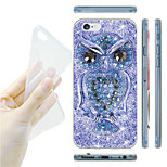 Owl Pattern TPU Soft Back Case for iPhone 6/6S