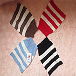 Holdhoney Red/Black/Brown/Blue And White Stripe Acrylic Sweater For Pets Dogs (Assorted Sizes, Colors) #LT15050178