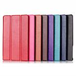cores sólidas de couro de luxo aleta corpo inteiro se destacam casos com fivela magnética para Dell Venue 8 7000/7840 (cores sortidas)