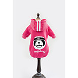 New Style Pet Clothes Panda Cotton Hoodies For Dogs